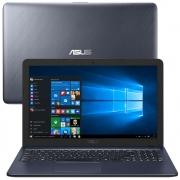 "Notebook Asus Dual Core 4GB 500HD Tela 15,6"" Webcam e Microfone"