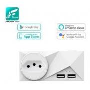 Tomada Inteligente Wifi Jwcom Smart compatível com Alexa e Google Home