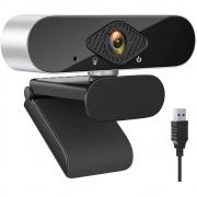 Webcam Microfone Câmera FULL HD 1080p