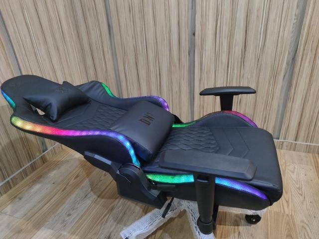 Cadeira Gamer Dn1 com Luz led RGB