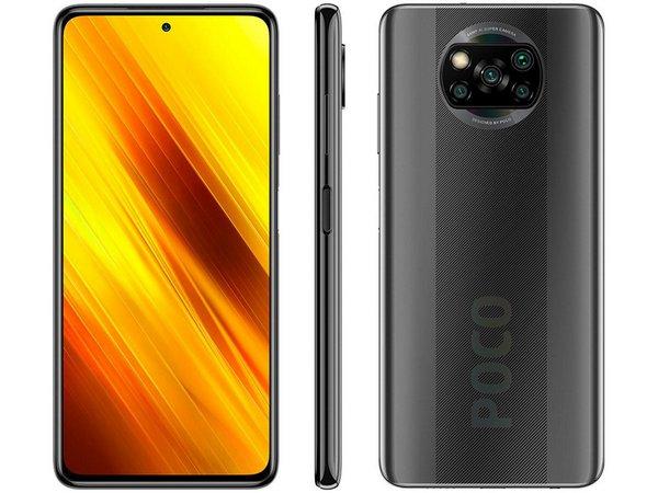 Celular Smartphone Xiaomi Poco X3 NFC 128gb versão 08 RAM Desbloqueado