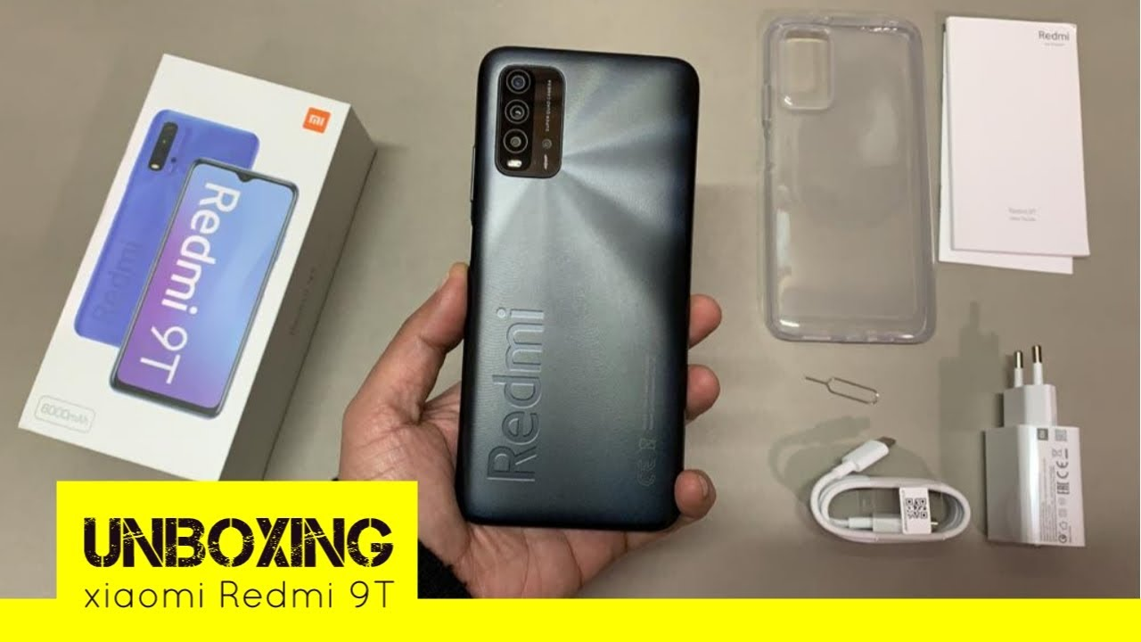 Celular Smartphone Xiaomi Redmi 9T 128gb/06RAM Desbloqueado