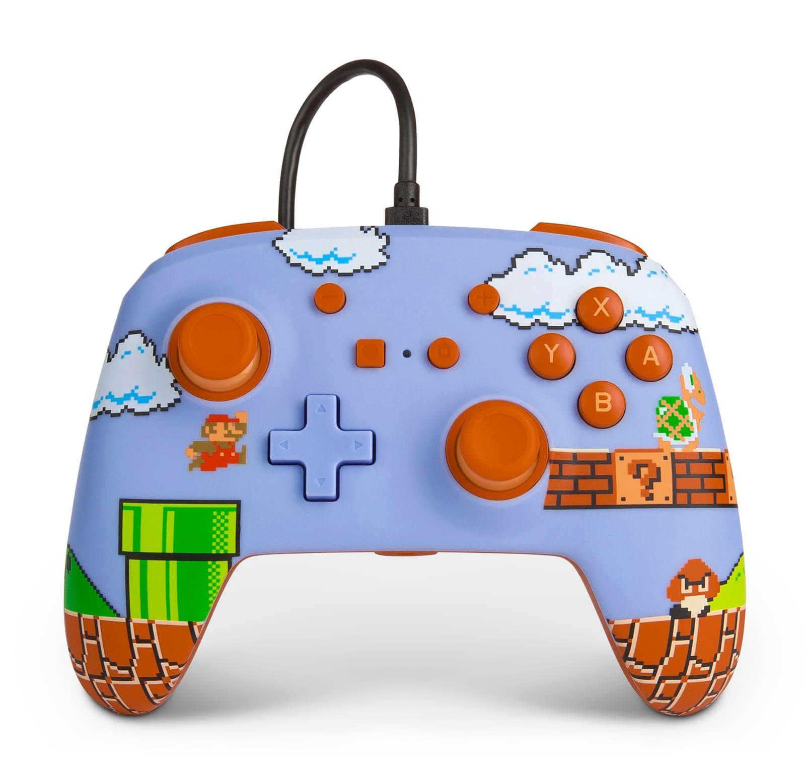 Controle Super Mario Bros Com Fio Nintendo Switch