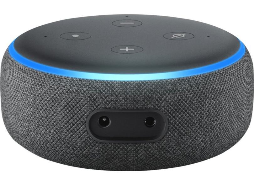 Caixa de som inteligente Echo Dot 3a geração