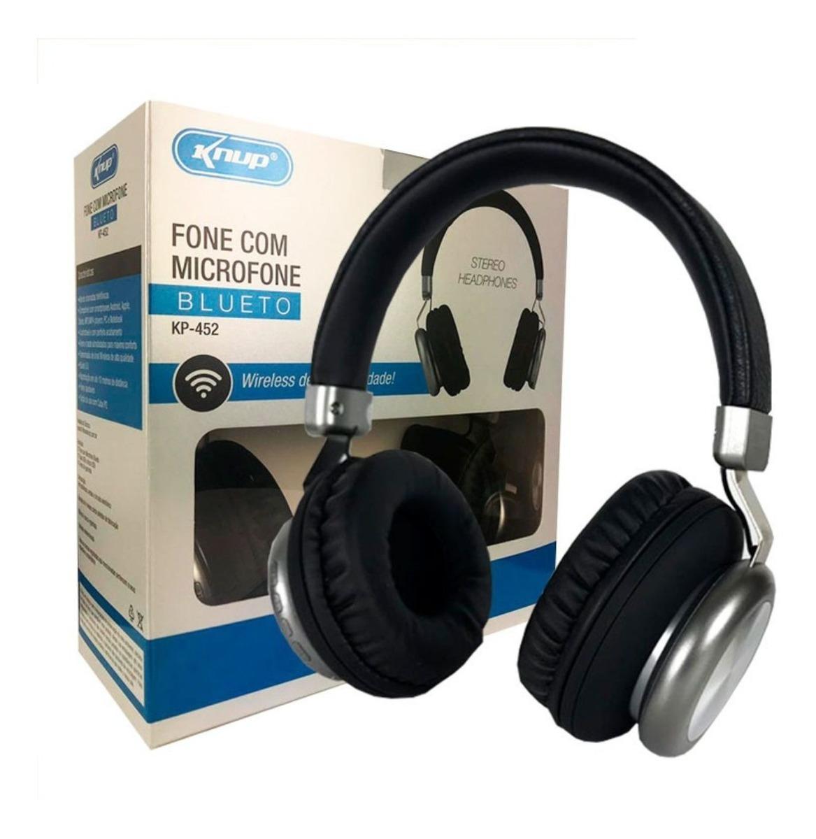 Fone de Ouvido sem fio Bluetooth KP-452