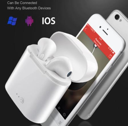 Fone De Ouvido Sem Fio I7s Tws  Via Bluetooth V 5.0