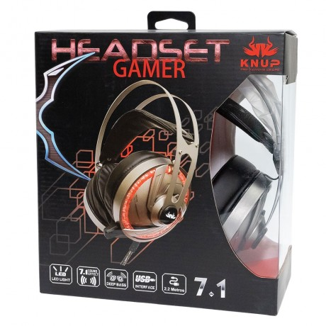 Headphone Gamer 7.1 canais KP-434