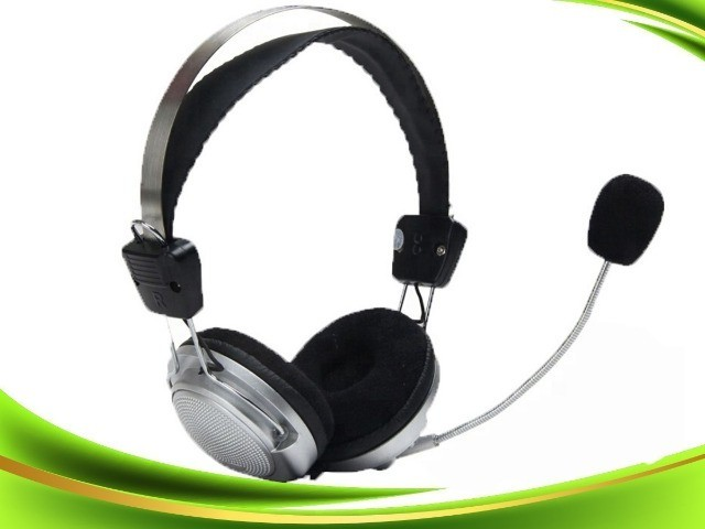 Headset Fone De Ouvido para PC sy-301 p2 (conector de audio e microfone separados)