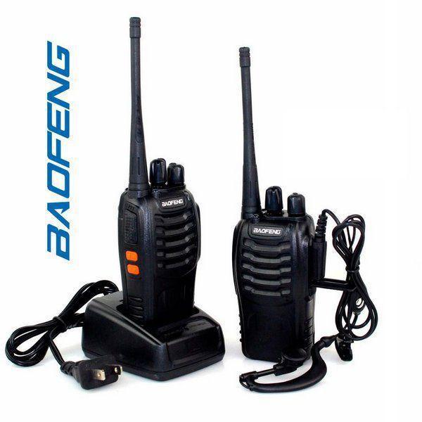 Kit 2 Radios Walk Talk BF-777S