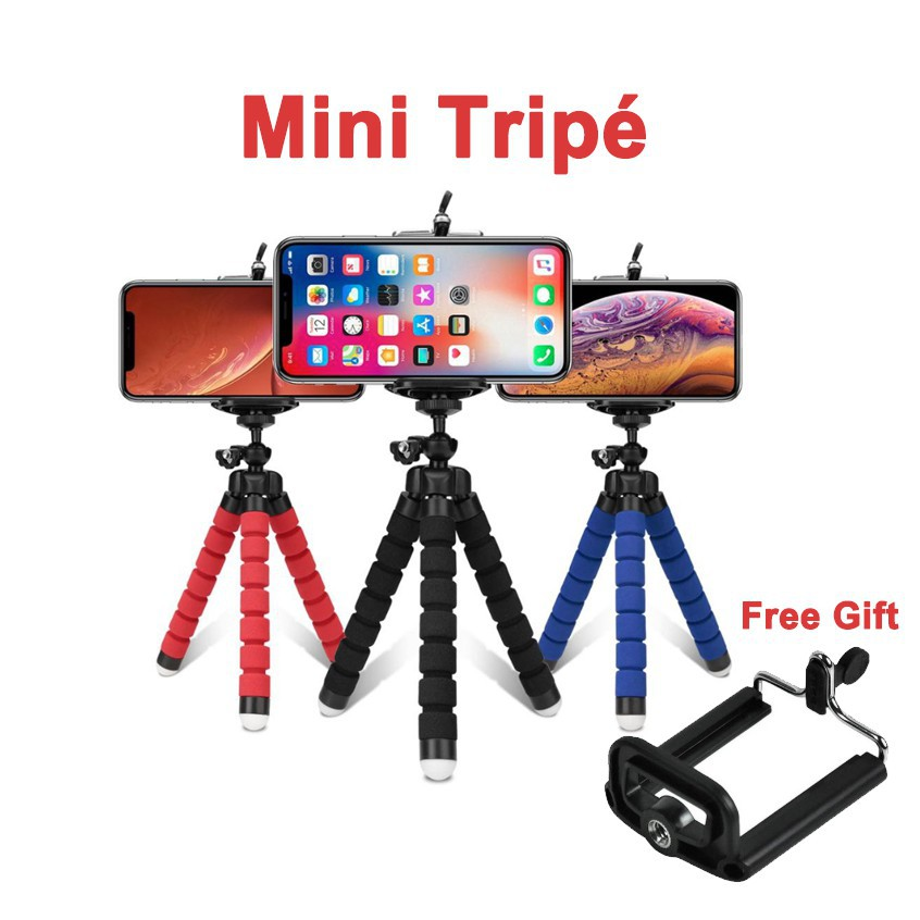 Mini Tripé Flexível para Celular