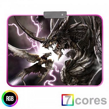 Mouse Pad Gamer RGB KP-S012 - Knup