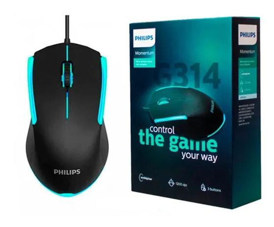 Mouse usb Gamer Philips G314