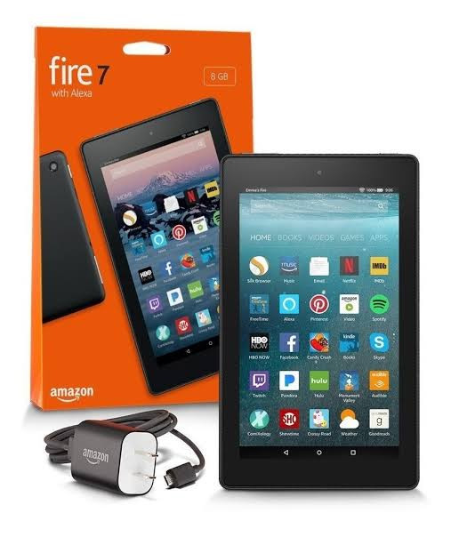 Tablet Amazon 9a geração Fire 7 16gb com Alexa