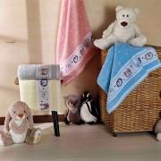 Toalha de Banho Dianneli Infantil Puppy 100% Algodão
