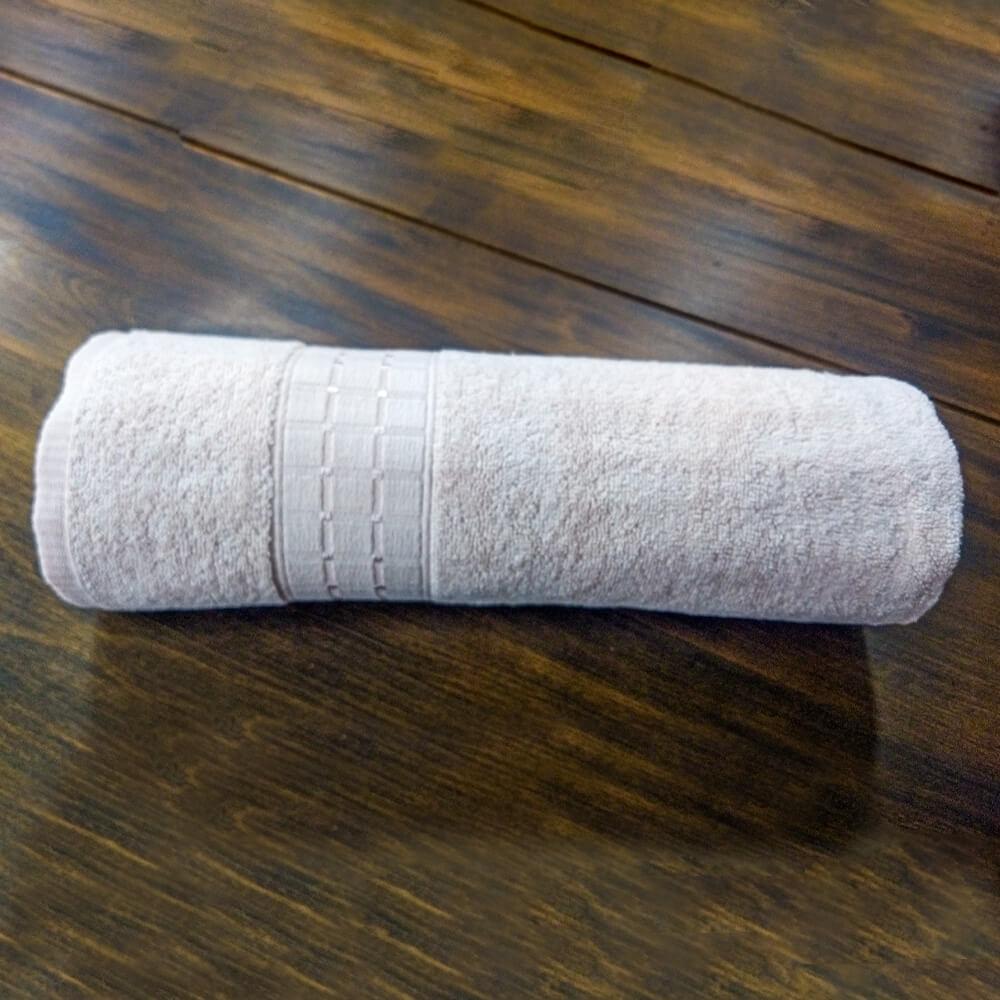 Toalha de Banho Dianneli Supreme 100% Algodão Rosa Nude