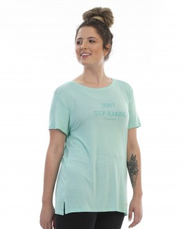 Blusa Don't Stop Running