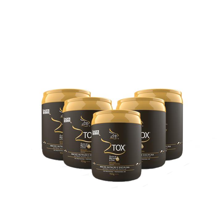 Compre agora 4 Ztox Mascara Regeneradora de 950 e leve +1