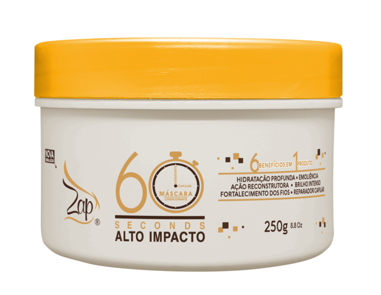 MÁSCARA ALTO IMPACTO EXPRESS 60 SECONDS 250G