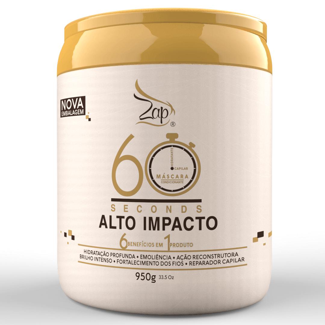 MÁSCARA CONDICIONANTE 60 SECONDS ALTO IMPACTO -950G - LANÇAMENTO