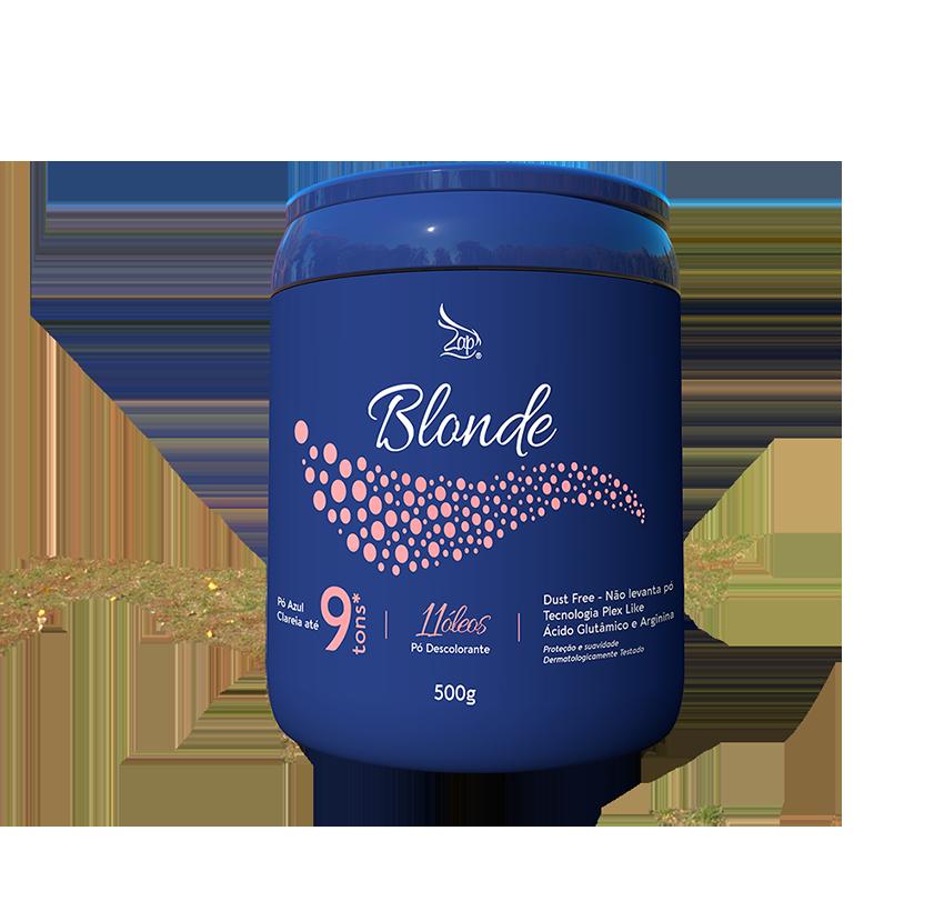 Pó Descolorante Zap Blond Care - Dust Free - 9 tons - 500g