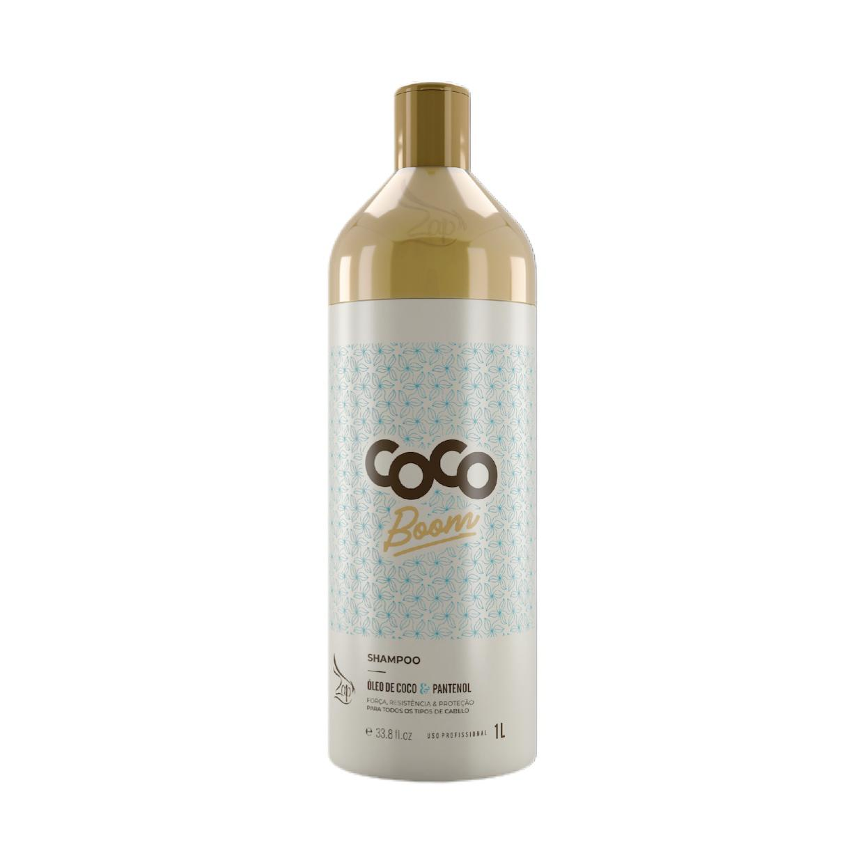 Zap Coco Boom Lavatorio Profissional 1L Shampoo