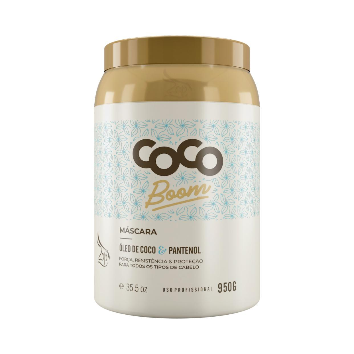 Zap Coco Boom Máscara 950g
