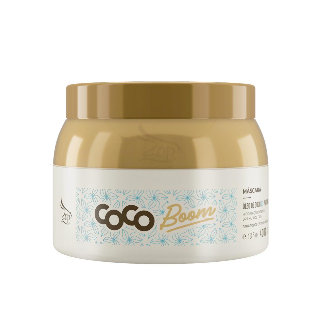 Zap Coco Boom Máscara Manutenção 400g