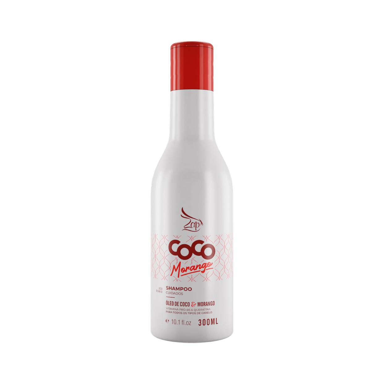 Zap Shampoo Coco Morango Manutenção 300ml Lançamento