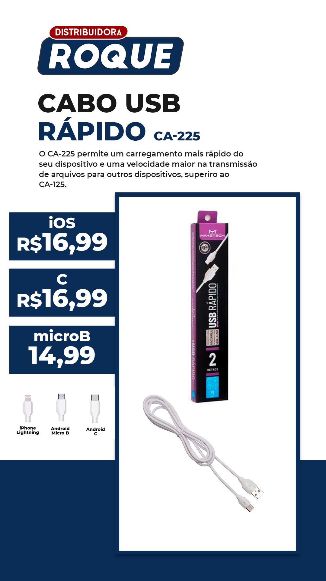 Cabo USB Turbo Lightning iOS C-225