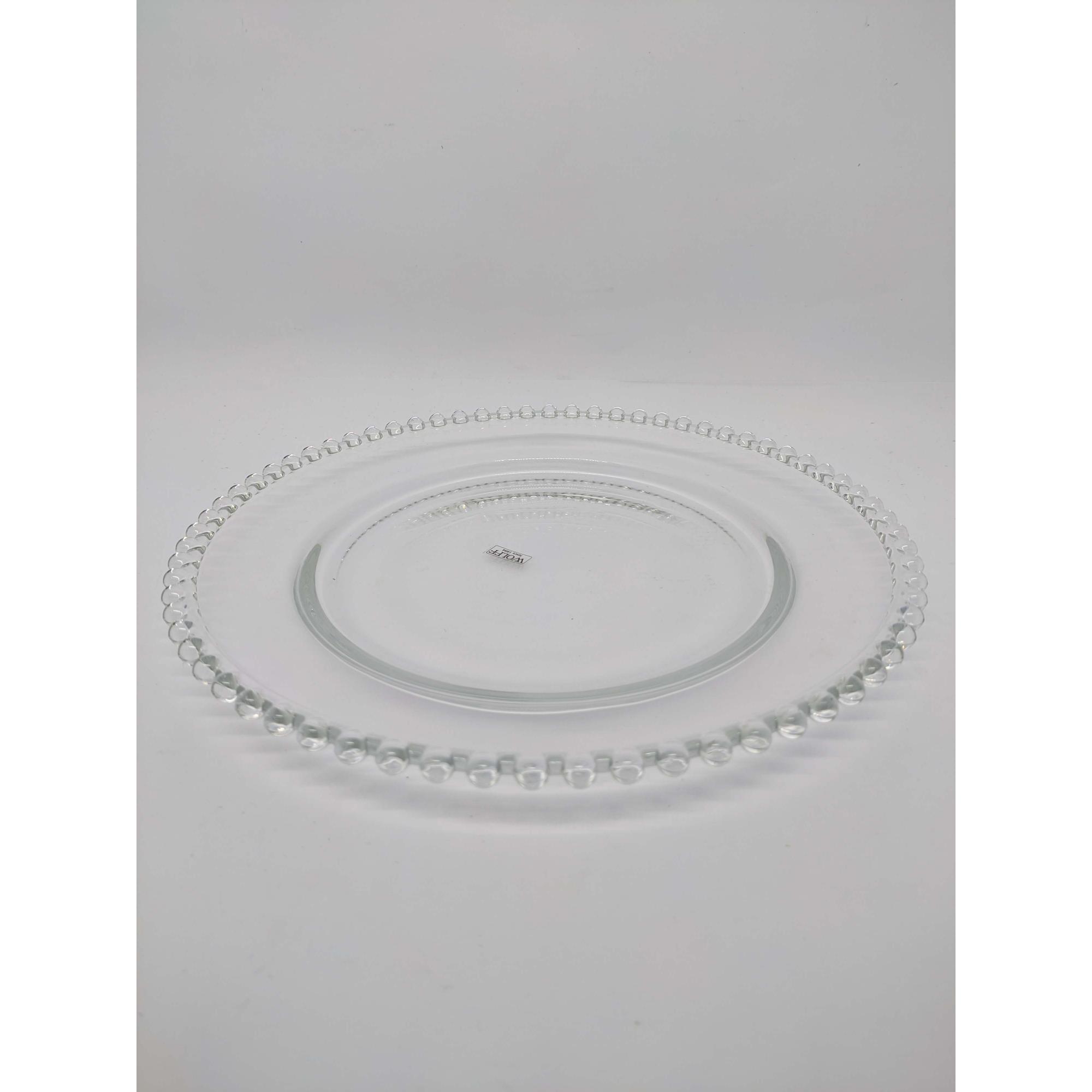 Prato Cristal de Chumbo Pearl 28cm