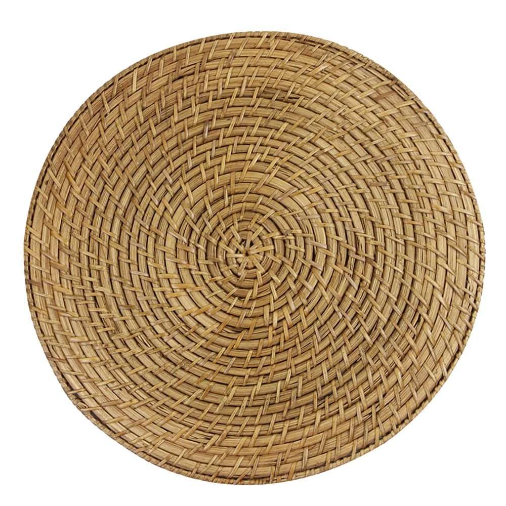 Sousplat em Bambu e Rattan D35xA1,5cm