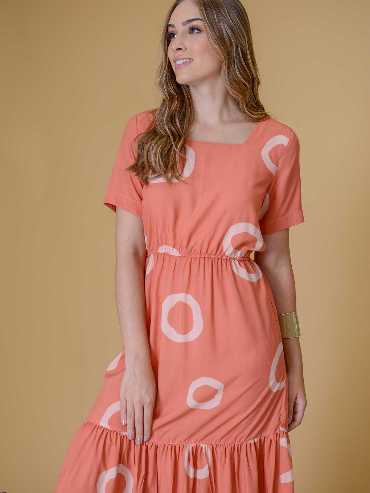 Vestido Poazinho camadas