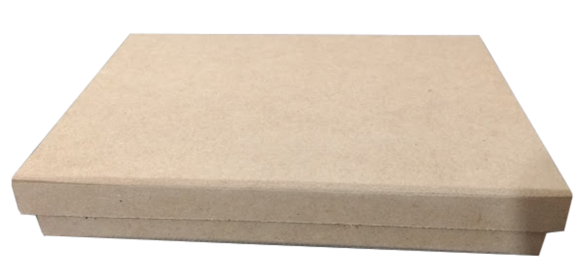 ALMOFADA ARTESANAL (TAMANHO ESPECIAL) P/ CARIMBO SEM TINTA (VIRGEM) 16X21cm