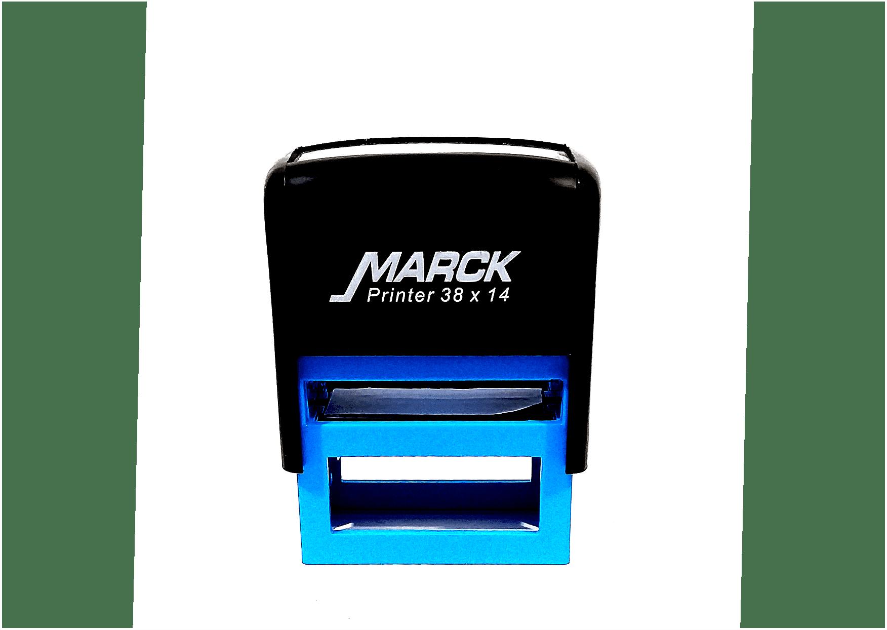 Carimbo Automático Marck 14x38