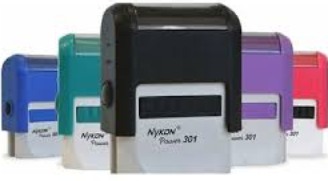 Carimbo Automático Nikon N-301 (10 x 27MM)