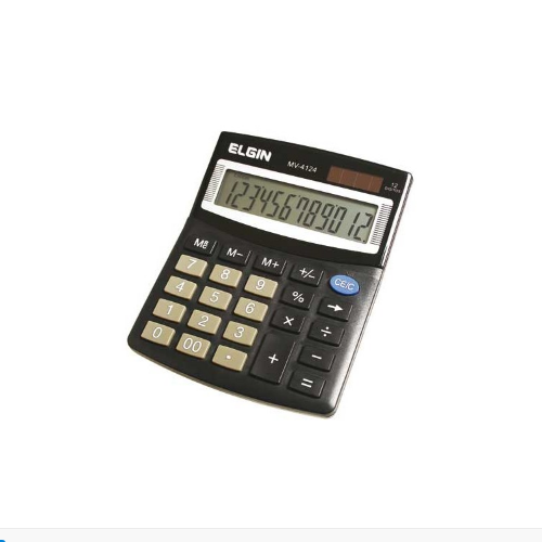 Calculadora De Mesa Elgin MV-4124
