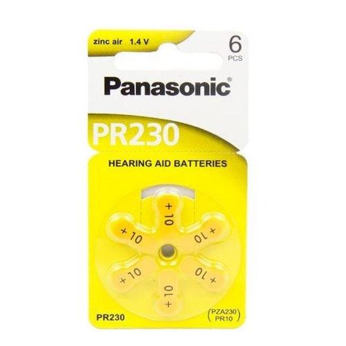 Bateria Auditiva PR230 Cartela c/6 unidades - Panasonic