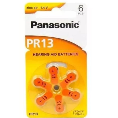 Bateria Para Aparelho Auditivo PR13H C/06 - PANASONIC