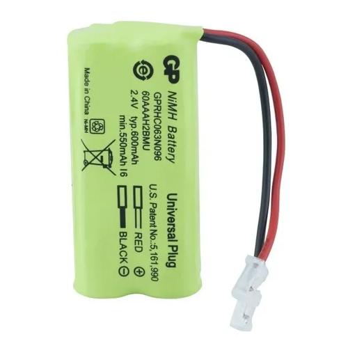 Bateria Telefone Sem Fio Gp T504 2,4v 600mah