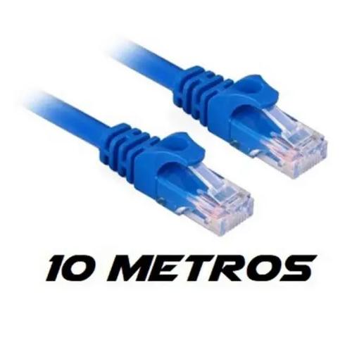 Cabo De Rede 10 Metros Rj45 Internet xcell