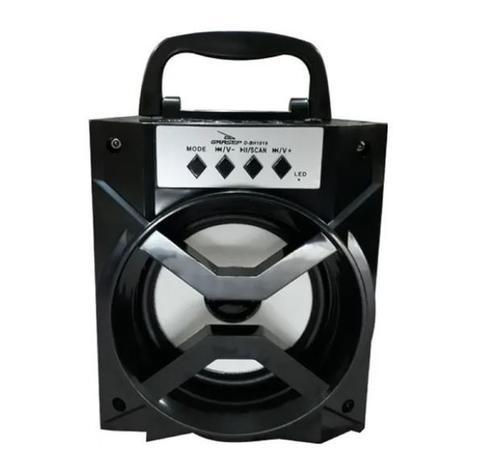 Caixa de som bluetooth hi-fi d-bh1019 grasep