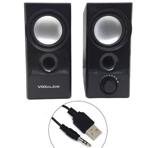 Caixa de Som para Computador 2.0 (10W) Voxcube VC-D420 Infokit