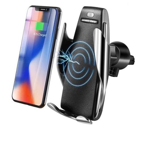 Carregador Suporte Smart Sensor Veicular Sem Fio Wireless