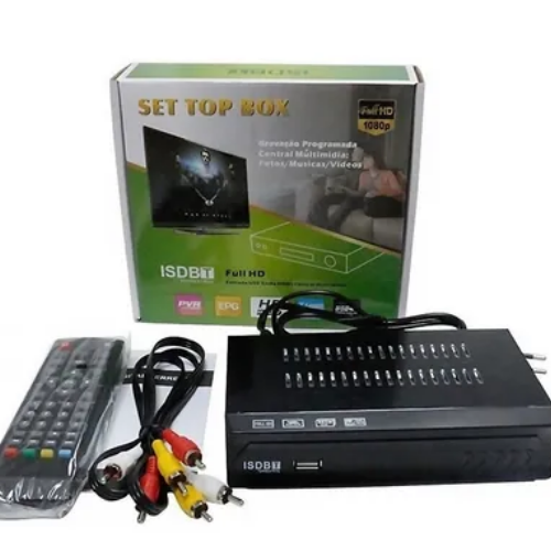 Conversor Set Top Box Receptor Tv Digital