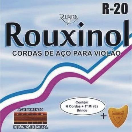 Encordoamento Rouxinol Violão Aço R20