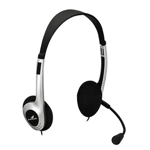 Fone de Ouvido Headset Multimídia HBL 101 Preto - Fortrek