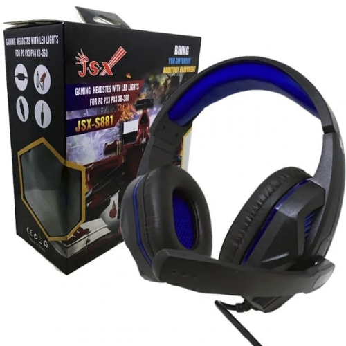 Fone Ouvido Gamer Microfone Headset Ps3 Ps4 Pc Xbox Jsx-s881