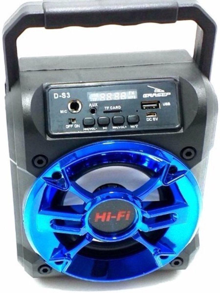 Grasep caixa de som bluetooth D-S3