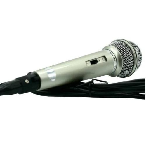 Microfone Com Fio Profissional Dinamico Dm 701 Jiaxi