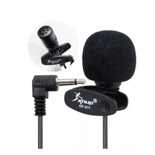 Microfone De Lapela Kp-911 Knup